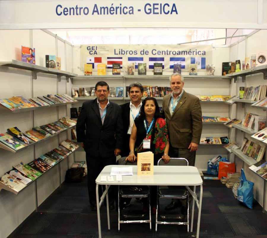 Delegación centroamericana a la Feria de Fráncfort